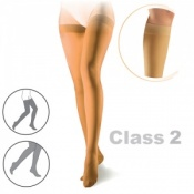 Sigvaris Cotton Class 2 Nature Thigh Compression Stockings