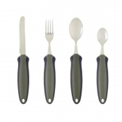 Newstead Soft Grip Weighted Cutlery Full Set
