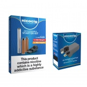 Nicocig Rechargeable Electronic Cigarette Starter Kit with USB Mains Charger