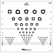 Logmar 3m Patti Pics Eye Test Charts