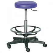 Practitioner Stool with Foot Ring