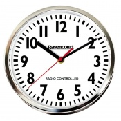 Radio Controlled Easy-to-See Wall Clock