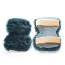 Real Sheep Skin Elbow Protectors