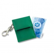 Resuscitation Device with Valve in Keyring Pouch (Pack of 10)