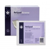 Relipad Advanced Sterile Low-Adherent Dressing Pads (Pack of 50)