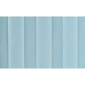 Pastel Blue Replacement Curtain for Sunflower Medical Mobile Three-Panel Folding Hospital Ward Curtained Screen