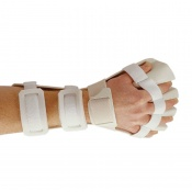 Rolyan Pre-Formed Anti-Spasticity Ball Splint with Slot and Loop Strapping