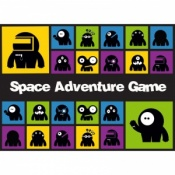 Space Adventure Phonics Board Game