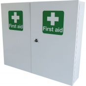 Safety First Aid Double Door Single Depth Cabinet