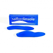 Salfordinsole Blue Firm Orthotic Insole