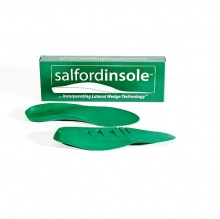 Salfordinsole Green Lateral Wedge Technology Insole