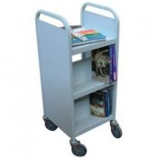 School Classroom Mobile Book Storage Trolley