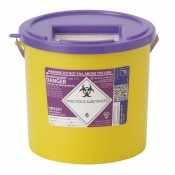 Sharpsguard Cyto 11.5L Sharps Container (Case of 20)