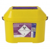 Sharpsguard Extra Cyto 8.5L Sharps Container (Case of 15)