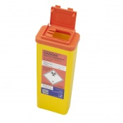 Sharpsguard Orange 0.5L Sharps Container with Needle Remover (Case of 60)
