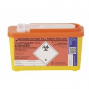 Sharpsguard Orange 1L Com-Plus Sharps Container (Case of 30)