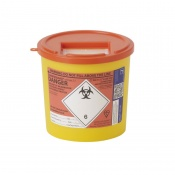 Sharpsguard Orange 2.5L General-Purpose Sharps Container (Case of 48)
