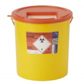 Sharpsguard Orange 22L High-Volume Sharps Container (Case of 10)