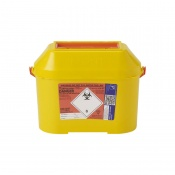 Sharpsguard Extra Orange 8.5L Sharps Container (Case of 15)