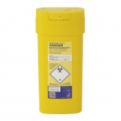 Sharpsguard Yellow 0.6L Sharps Containers (Case of 48)