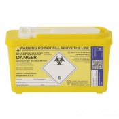Sharpsguard Yellow 1L Com-Plus Sharps Container (Case of 30)