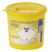 Sharpsguard Yellow 2.5L General-Purpose Sharps Container (Case of 48)