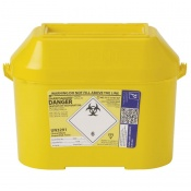 Sharpsguard Extra Yellow 8.5L Sharps Container (Case of 15)