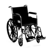Drive Medical Silver Sport Self Propelled Wheelchair