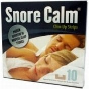 Snore Calm Chin Up Strips - 10 Pack