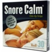 Snore Calm Chin Up Strips - 30 Pack