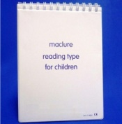 Maclure Reading Test Type for Children
