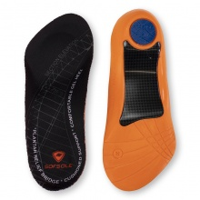 DELUXE LEATHER ODOUR RESISTANT INSOLES BLACK UK 3-4,14,15,16 FULL LENGTH