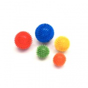 Multi-Coloured Spiky Massage Balls
