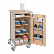 Sunflower Medical 4 Rack Monitored Dosage System Administration Trolley