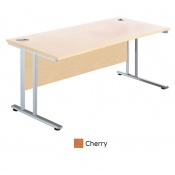 Sunflower Medical Cherry 80cm Wide Square Desk