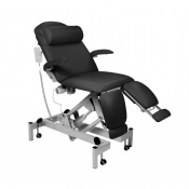 Sunflower Medical Black Fusion Podiatry Electric Tilting Chair