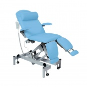 Sunflower Medical Cool Blue Fusion Podiatry Electric Tilting Chair
