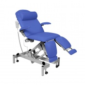 Sunflower Medical Mid Blue Fusion Podiatry Electric Tilting Chair