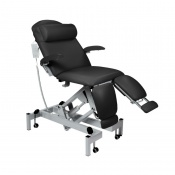 Sunflower Medical Black Fusion Podiatry Electric Trendelenburg Chair