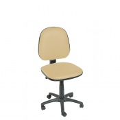 Sunflower Medical Beige Gas-Lift Chair with Arm Rests