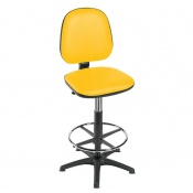 Sunflower Medical High-Level Primrose Gas-Lift Chair with Foot Ring and Glides