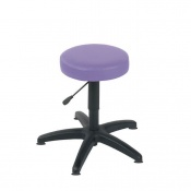 Sunflower Medical Lilac Gas-Lift Stool with Glides