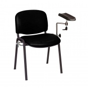 Sunflower Medical Black Phlebotomy Chair with Moulded Seat and Back