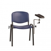 Sunflower Medical Blue Phlebotomy Chair with Moulded Seat and Back