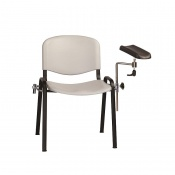 Sunflower Medical Grey Phlebotomy Chair with Moulded Seat and Back
