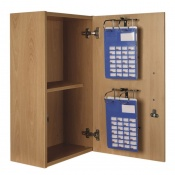 Sunflower Medical Self-Administration Wall Cabinet with Two MDS Racks