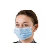 Disposable Latex-Free Surgical Face Masks (Pack of 50)