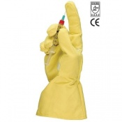 TurtleSkin Full Coverage Cut Resistant Safety Gloves