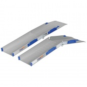 Ultralight-Folding Threshold Wheelchair Ramps (Pair of Ramps)