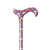 Union Flag Derby Walking Cane